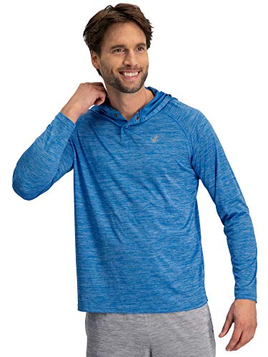 Jolt Gear Mens Hoodies Pullover - Long Sleeve Casual Hoodie for Men - Lightweight Thin Hooded Sweater T ()