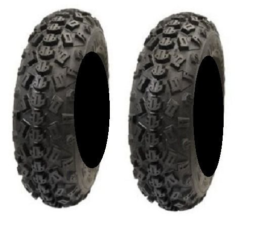 Pair of STI Tech 4 XC Front 22x7-10 (6ply) ATV Tires (2) by Powersports Bundle (Image #2)