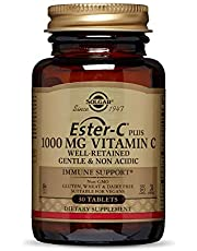 Solgar Ester C 1000 Mg 30 Tablet