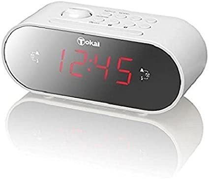 Lema tcp152wm Radio Despertador proyector Blanco: Amazon.es ...