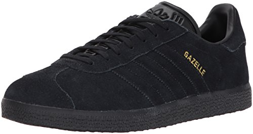 adidas Originals Gazelle Sneaker,Black/Black/Metallic Gold,8.5 Medium - Black Gold And Original