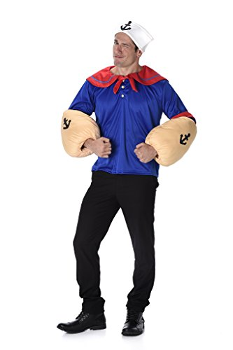 Sailor Halloween Costumes Men (Men's Sailor Man - Halloween Costume (L))