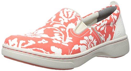 Dansko Kvinna Belle Korall Blommig Duk Mode Sneaker Korall Blommig Duk