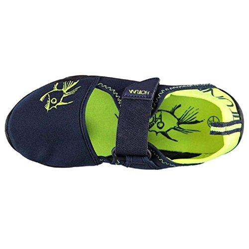 Hot Tuna - Escapines para hombre Navy/Green Sandals
