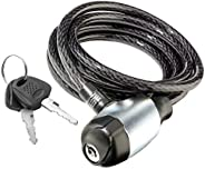 Schwinn Anti Theft Bike Lock, Security Levels 1-5, Key and Combination Options, Multiple Lengths