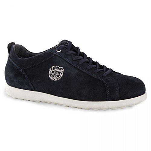 en Bleu Fonce US Homme Polo Baskets 43 Suede US Polo RwPPBEq8an