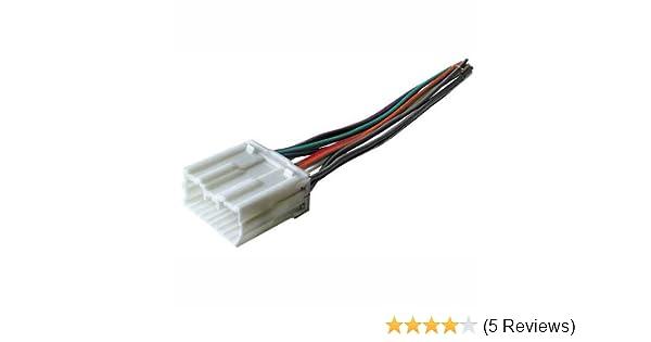 Amazon.com: Stereo Wire Harness Mitsubishi Montero Sport 00 01 02 03 04  2000 2001 2002 2003 2004 (car radio wiring installation parts)Amazon.com