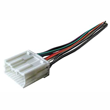 41RsV34rS7L._SY355_ amazon com stereo wire harness mitsubishi galant 99 00 01 02 03 radio wiring diagram for 2000 mitsubishi eclipse at fashall.co
