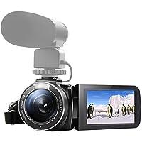 SEREE HDV-520 Camcorder WIFI External Microphone Jack Input FHD 1080p 24.0MP 3.0 Screen 16X Digital Zoom Digital Camera Video Recorder