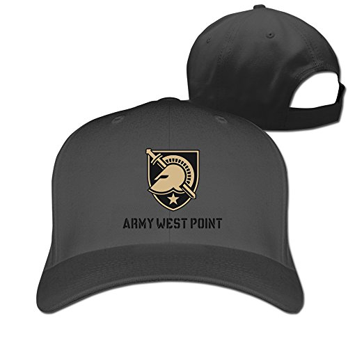 Man & Women United States Military Academy West Point Fitted Hat Black