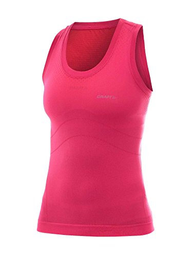 Craft - Camiseta sin mangas para mujer (sin costuras) Hibiscus