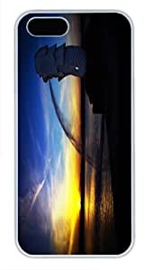 iphone 5s Case,hard white Case Covers For Apple iphone 5 5s,iphone 5s covers---sunrise and sunset 180