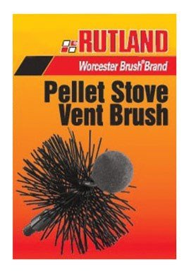 Pellet Cleaning Brushes Stove (Rutland Products PS-3 3-Inch Round Pellet Stove Brush)