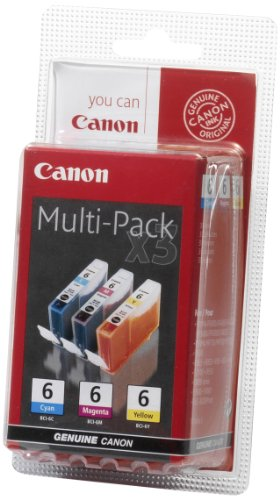 Price comparison product image Canon Ink Multi Pack C/M/Y BCI-6, 4706A029