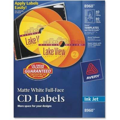 AVE8960 - Avery Full Face CD Labels