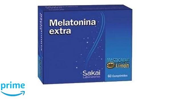 Melatonina Extra Masticable 60 comprimidos de Sakai: Amazon.es: Salud y cuidado personal