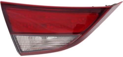 Passenger Side Lamp Bulb Lens 04 Elantra Sedan OEM Rear Brake Tail Light