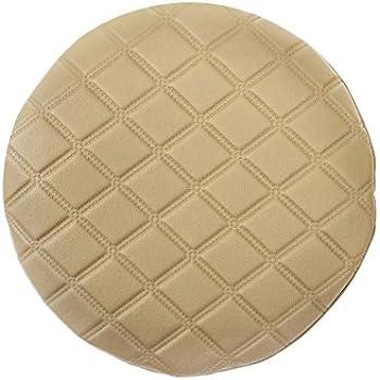 Amazon Com Enerhu Round Bar Stool Cover Faux Leather