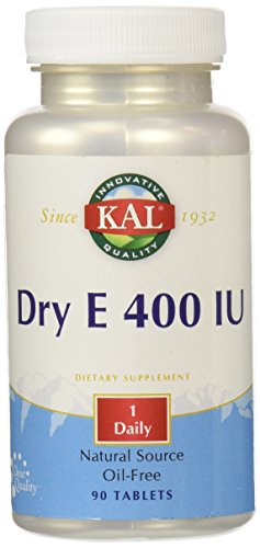 KAL Vitamin E Dry 400 IU Tablets, 90 Count Review
