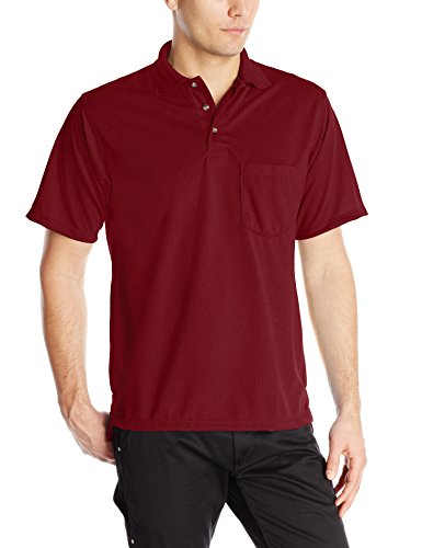 Red Kap Mens Performance Knit Polyester Solid Shirt