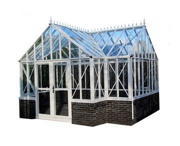 Royal Victorian Antique Orangerie Glass Greenhouse with Accessory Kit