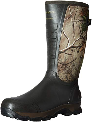 Lacrosse 4X Alpha Snake Boot-M, Realtree Xtra Green, Men's 11