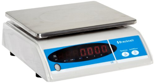 34f005dfbc7c Salter-Brecknell 405 Basic Weighing Scale with LED Display, 9-1/2