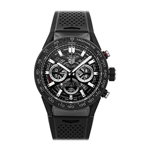 Tag Heuer Carrera Mechanical (Automatic) Skeletonized Dial Mens Watch CBG2A91.FT6173 (Pre-Owned)