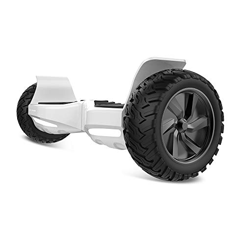CITY CRUISER Hoverboard Dual Motors Electric Self Balancing Scooter with Built-in Speaker and LED Lights – UL2272 Certified