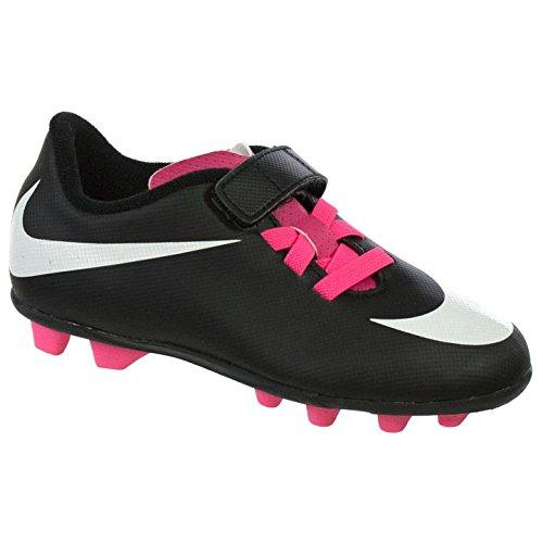 Nike Junior Bravata (V) (FG-R) Kids Firm-Ground Soccer Cl...