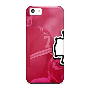 Iphone 5c SId6992xdfp Custom Trendy Kansas City Chiefs Image Shock-Absorbing Hard Phone Case -AnnaDubois