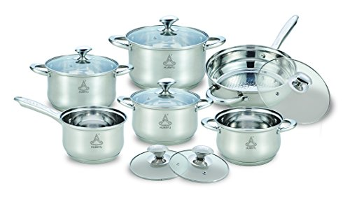 HUANYU-Stainless-Steel-Cookware-Set-12-Piece