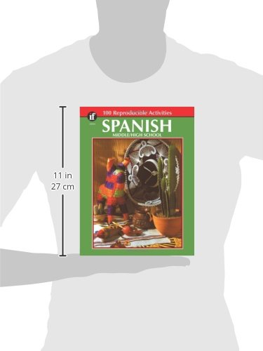 Workbook 4th grade spanish worksheets : Amazon.com: Spanish, Grades 6 - 12: Middle / High School (The 100+ ...