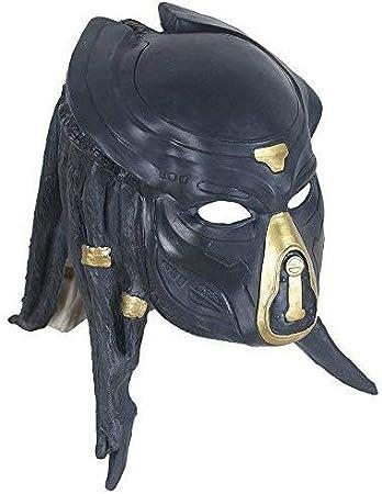 yacn Alien vs Predator Máscara del Guerrero del Partido del Traje ...
