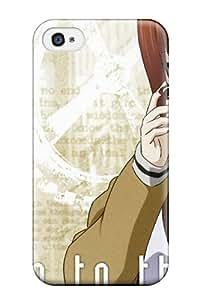 GTqvDTU4017Gqggs Tpu Phone Case With Fashionable Look For Iphone 4/4s - Steins;gate Makise Kurisu
