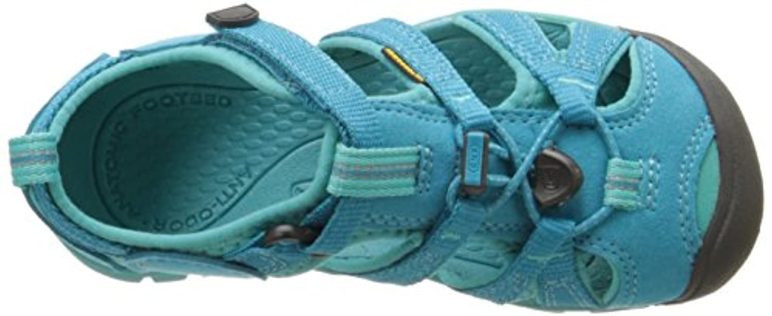 Keen Unisex Kids' Seacamp Ii Cnx Hiking Sandals, Turquoise (baltic/caribbean Sea), 8 Child UK