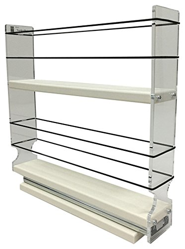 Vertical Spice   2x2x11 DC   Spice Rack Narrow Space   10 Capacity   Drawer  Access