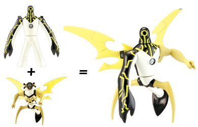 Ben 10 (Ten) Alien Creation Chamber Mini Figure 2-Pack Upgrade and Stinkfly
