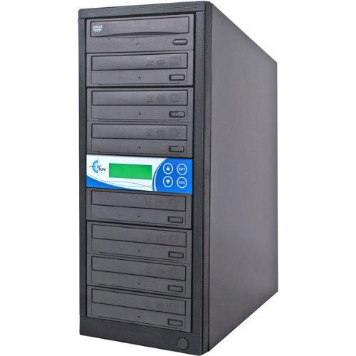 EZdupe 1:7 CD/DVD Duplicator - DVD-ROM, DVD-Writer - 16x DVD, 32x CD-R - EZD7TDVDLGB by Ez Dupe-Computer