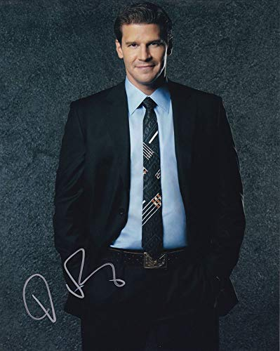 David Boreanaz in-person autographed photo from Sign Here Autographs