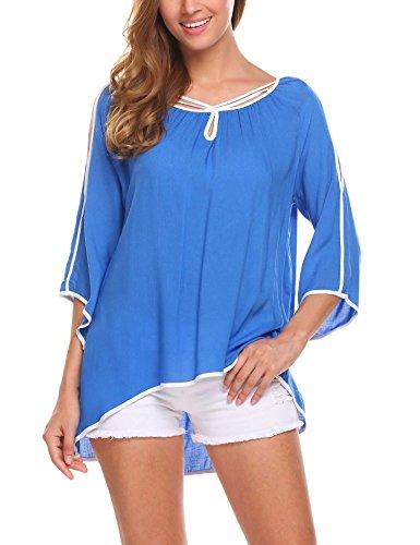 Cotton Chiffon Women T-shirt - 3