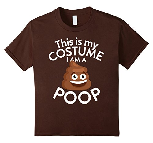 Kids This Is My Costume I'm A Poop Emoji T-shirt Poop Emoji Lover 10 (Cute But Scary Halloween Costumes Ideas)