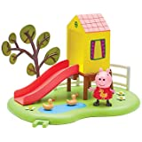 Peppa Pig Le Toboggan de Peppa – Décor + 1 Mini Figurine