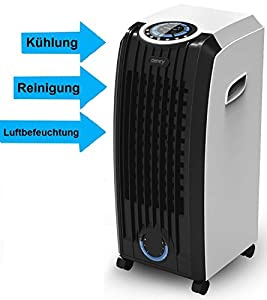 3 in 1 aircooler mobiles klimager t ventilator standventilator luftk hler windmaschine. Black Bedroom Furniture Sets. Home Design Ideas