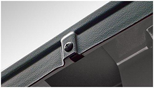 BUSHWACKER Bed Side Rail Protector Ultimate w/ Stake Pocket Holes Smooth Black D ()