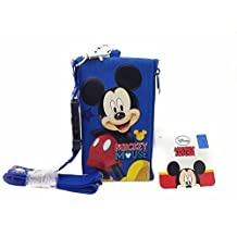 Disney Lanyard & ID Holders with Coin Purse (Blue Mickey)