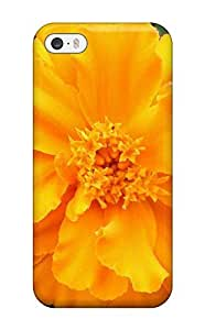 New Arrival WQhmsEz2308OlyOQ Premium Iphone 5/5s Case(yellow Flowers )