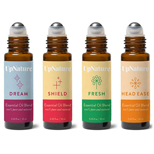 Wellness Essential Oil Roller Set Migraine Relief Thieves Oil Sweet Dreams Citrus Essential Oil Easy Application Pre Diluted Roll On Kid Safe Leak Proof Rollerball Stocking Stuffer Idea