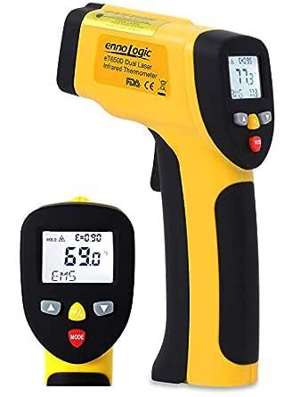Termometro Infrarrojos sin Contacto -50°C a 650°C ennoLogic (TM ...