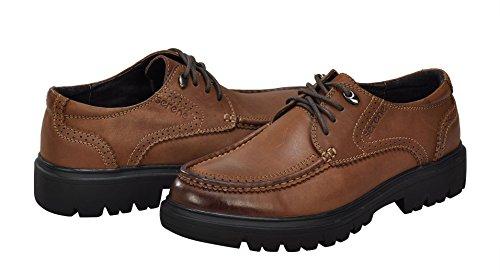 Scarpe Da Uomo In Stile Britannico Sereno Scarpe Comode Scarpe Da Ufficio In Pelle Moda Pizzo-up